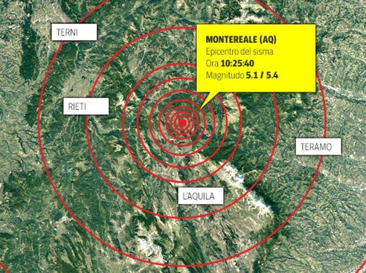 INGV, lista terremoti in tempo reale: scosse 19 gennaio a L'Aquila