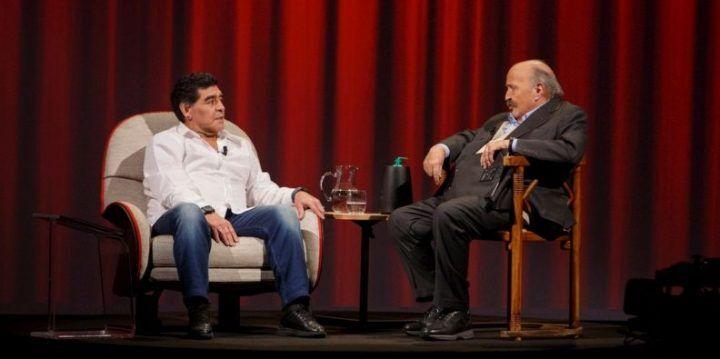 Video intervista Maurizio Costanzo a Maradona. VIDEO