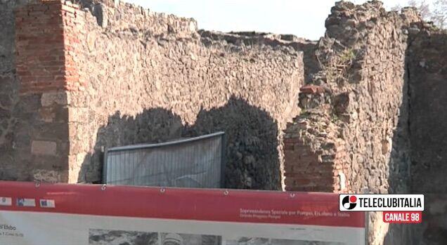 Pompei, nuovo crollo nei pressi della Casa del Citarista