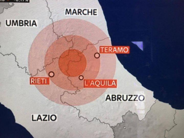 INGV/ Terremoto l'Aquila in tempo reale: 4 scosse. Sciame sismico in atto