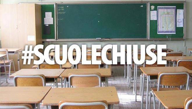 Scuole chiuse 10 gennaio in Campania, Calabria, Sicilia, Abruzzo, Molise, Puglia. Elenco