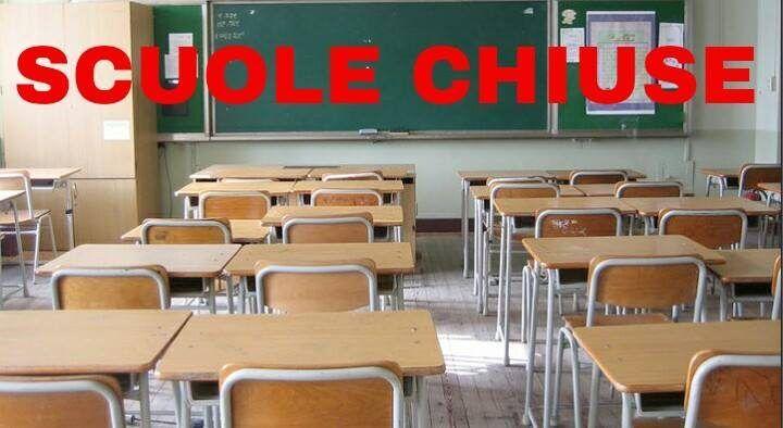 Scuole chiuse 16 gennaio Campania, Molise, Sicilia. Elenco comuni