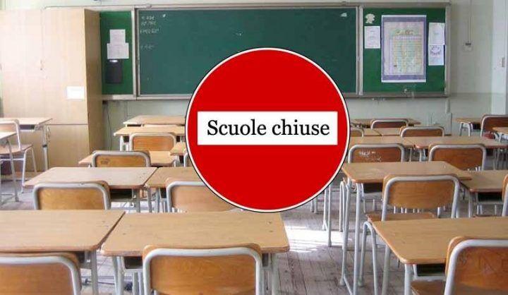Elenco scuole chiuse 9 gennaio Basilicata, Puglia, Campania, Molise, Abruzzo