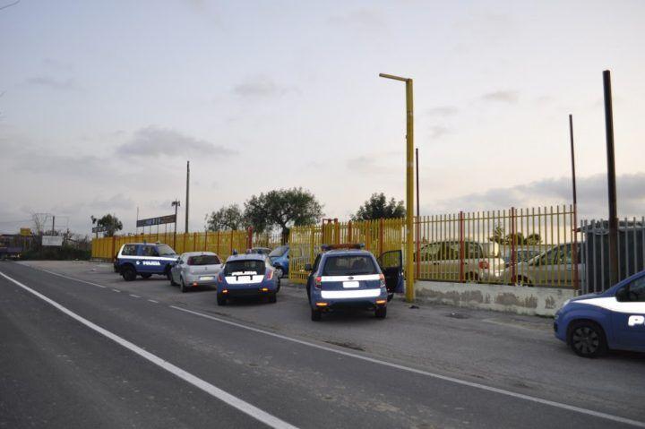 Mugnano, sequestrati 1758 veicoli intestati a un 34enne
