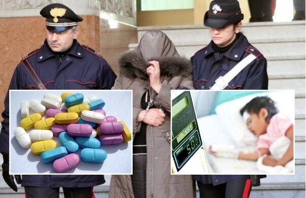 Tenta di uccidere la figlia di 3 anni con farmaci, arrestata 30enne di Napoli