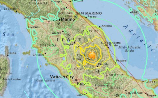 Lista terremoti INGV in tempo reale: scosse in Abruzzo, Marche, Lazio
