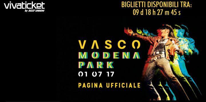Vivaticket Vasco Rossi, vendita biglietti Modena: prezzo e data