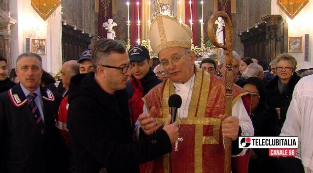 """Giugliano. San Giuliano, l'omelia del Vescovo Spinillo: """"I Santi Martiri siano luce nella fede""""."""