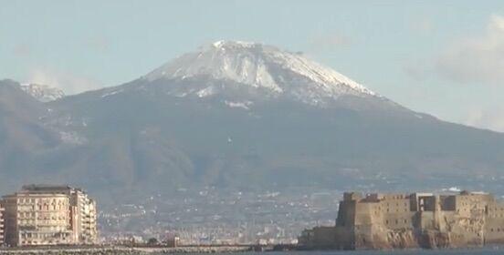 Gelo sulla provincia di Napoli, le previsioni per i prossimi giorni