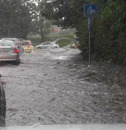 Meteo, dalle 18 la protezione civile avverte di possibili pericoli per la pioggia