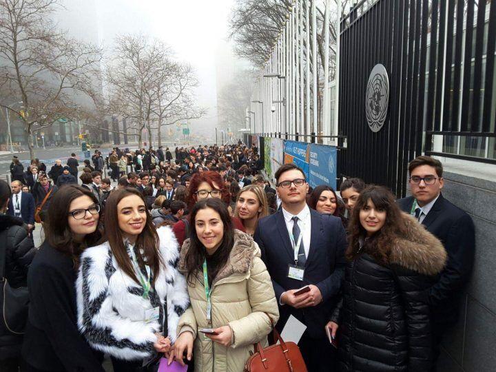 """Marano, studenti del """"Levi"""" delegati ONU a New York"""