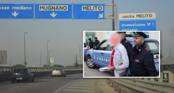 Asse Mediano, rapinava automobilisti nel traffico. Inseguito e arrestato