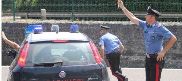 Casoria, scoperto arsenale in un furgone rubato a Orta di Atella