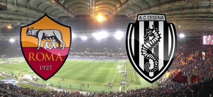 Dove vedere Roma Cesena in tv: diretta streaming, orario, formazioni