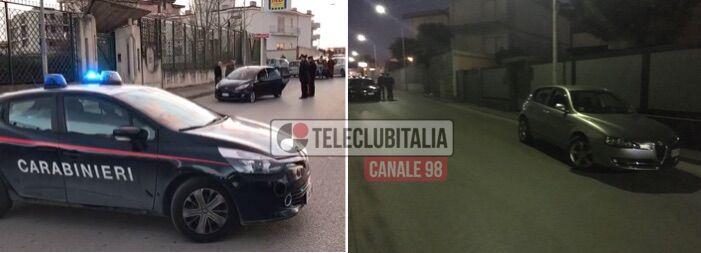 Sparatoria e inseguimento a Sant'Antimo, uomo colpito da proiettili