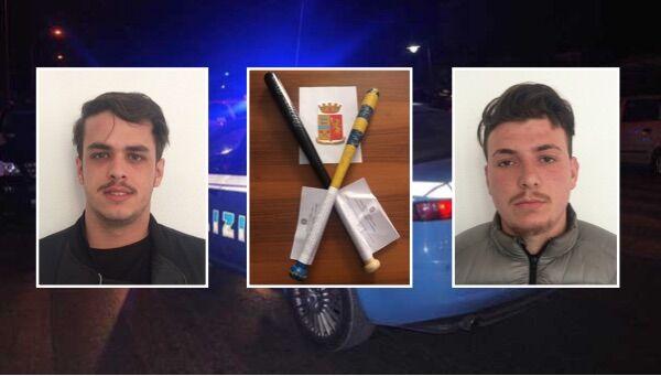 Tentano la rapina dell'Evoque con mazze da baseball: presi due di Giugliano