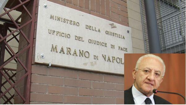 Giudice di Pace di Marano, la Regione interviene per scongiurare la chiusura