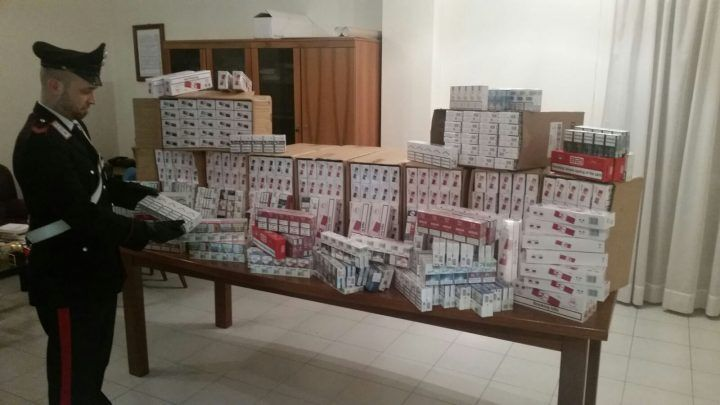 Giugliano, operazione contro il contrabbando: 15 e denunce e 150 kg sequestrati