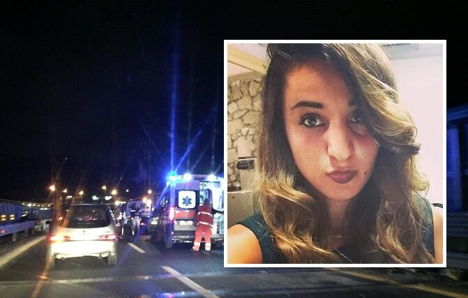 Incidente sull'asse mediano: muore Virginia Musto, 21enne di Aversa