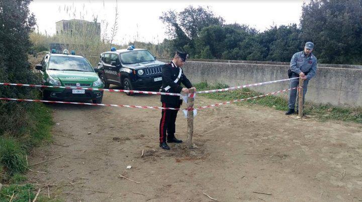 Licola, carabinieri sequestrano area di 12mila metri nella foresta di Cuma