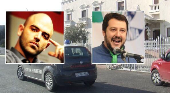 Giugliano, violenza sessuale in centro accoglienza. Saviano risponde a Salvini