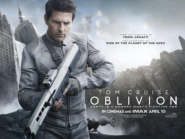 Oblivion film su Italia1 con Trom Cruise: trama, cast, critica