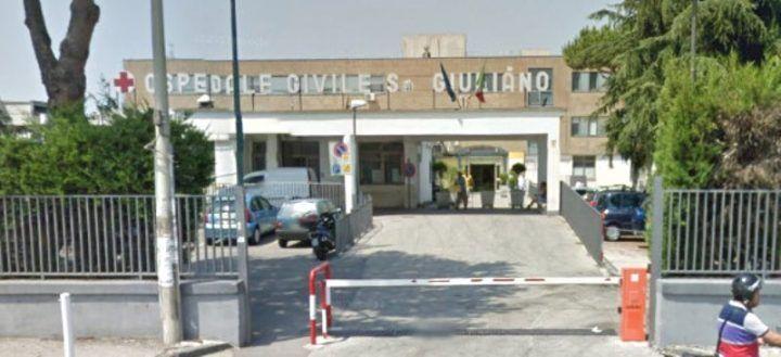 Giugliano, operaio morto di Qualiano trasportato in ospedale
