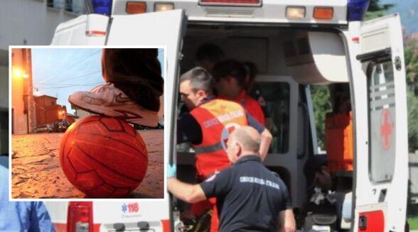 San Giuseppe Vesuviano, stroncato da un infarto a 11 anni mentre gioca al pallone