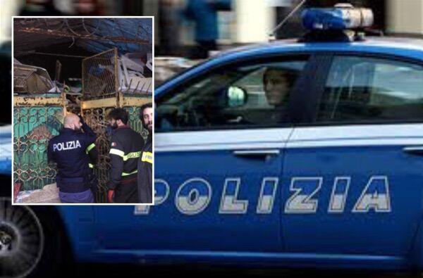 Pozzuoli, crollo in casa: 90enne salvato dalla polizia