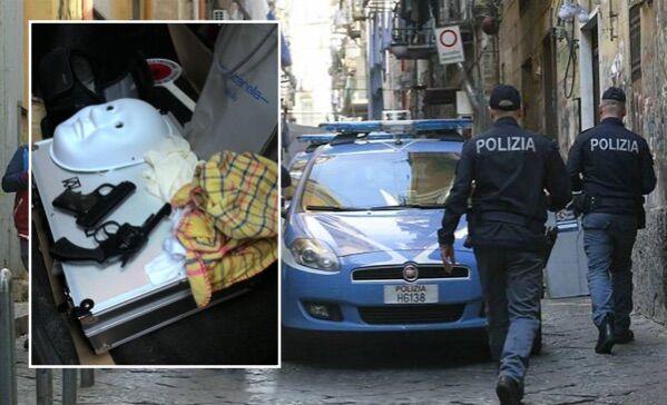 Alta tensione ai Quartieri Spagnoli, la polizia sequestra due pistole