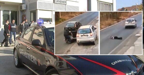 Rapina tra Giugliano e Parete, fermati dai carabinieri i due malviventi. VIDEO