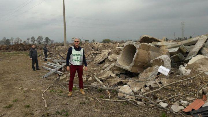 Sessa Aurunca, sequestrata maxi discarica di rifiuti pericolosi