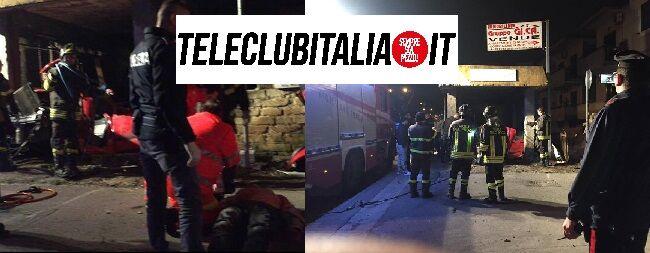 Villaricca, incredibile incidente sulla circumvallazione: si schianta nel sottopassaggio e resta incastrato