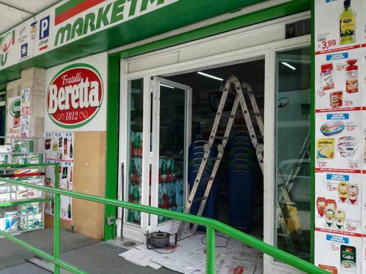 Marano, la criminalità colpisce ancora: nel mirino il 'Market Piu' di via Mallardo