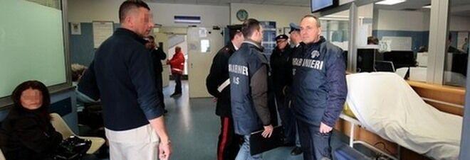 Falsi incidenti, blitz all'ospedale Loreto Mare