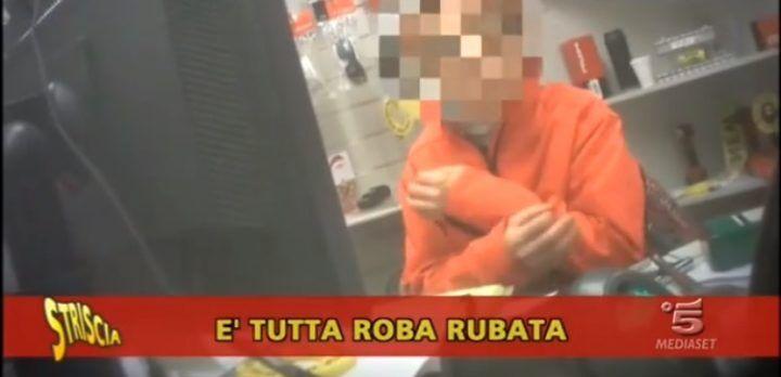 Merce rubata al mercatino delle pulci, il nuovo servizio di Luca Abete