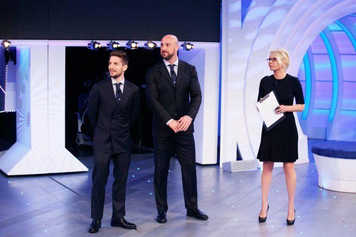 """Due calciatori del Napoli a """"C'è Posta per Te"""""""