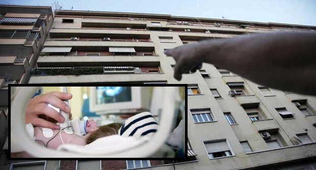 Bimbo di due anni precipita dalla finestra: è gravissimo al Santobono