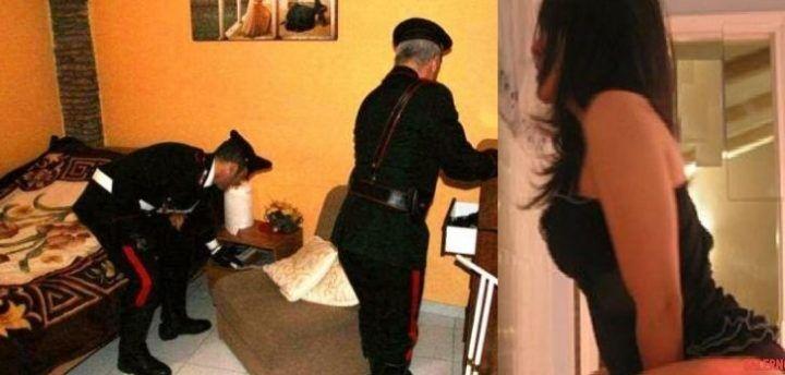 Giugliano, scoperta casa a luci rosse con ragazze sudamericane