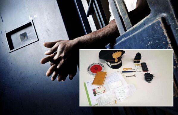 Carceri, perquisizione all'Istituto di Cassino: trovati due cellulari nelle celle