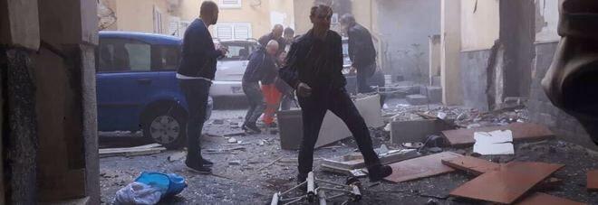 Terrore ad Ercolano per un esplosione: anziana ferita