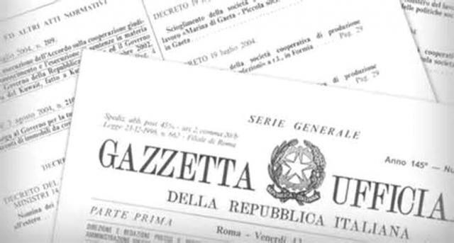Gazzetta ufficiale del 3 marzo, nuovo rinvio per il concorso cancellieri