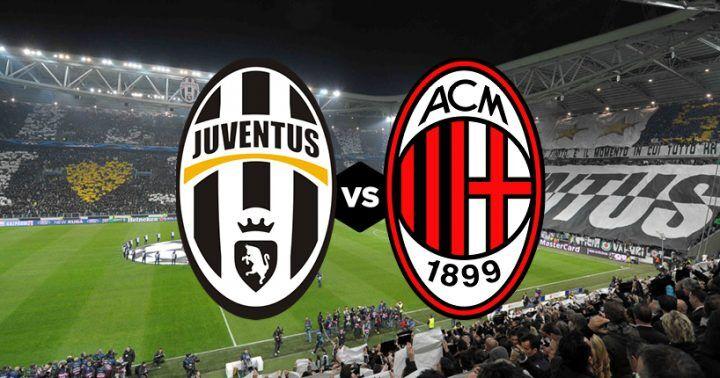 Dove vedere Juventus – Milan: streaming gratis, diretta tv