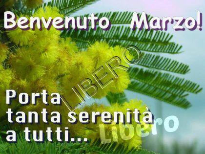 marzo benvenuto
