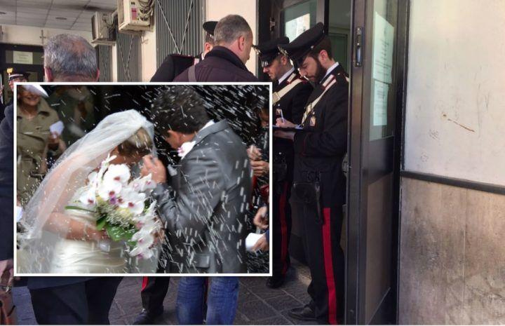 Mugnano, si deve sposare ma si ritrova in un blitz dei Carabinieri