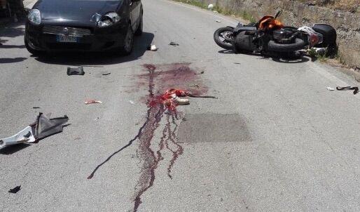 INCIDENTE MORTALE A PASTORANO. Muore motociclista di 38 anni