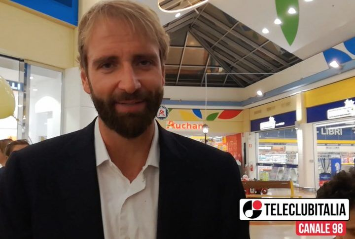 """Mugnano, Massimiliano Rosolino all'Auchan: """"Futuro? Ho tanti progetti"""""""