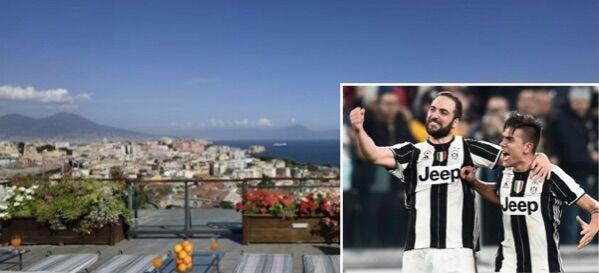 Napoli-Juventus, doppio scontro in 4 giorni: ecco dove alloggerano i bianconeri