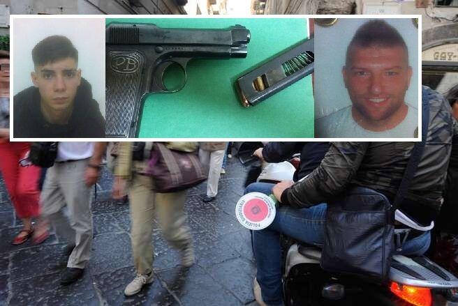 Napoli, sparano contro i Falchi: due arrestati