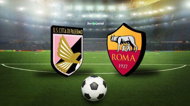 Serie A, Palermo sconfitto dalla Roma